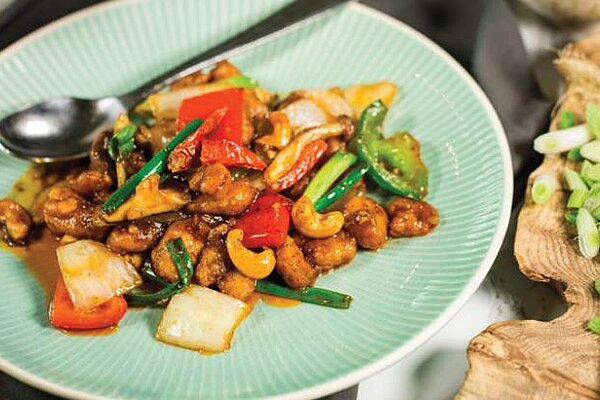 Chaophraya recipe chicken cashew nut